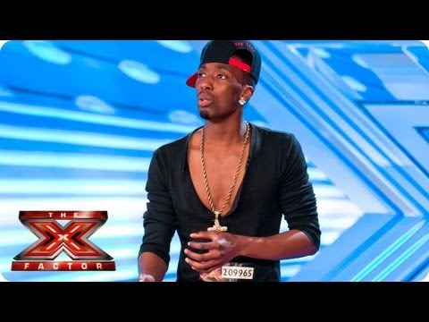 J Star Valentine Sings Hallelujah By Alexandra Burke  Auditions Week 1    The X Factor 2013   Hardest Bars