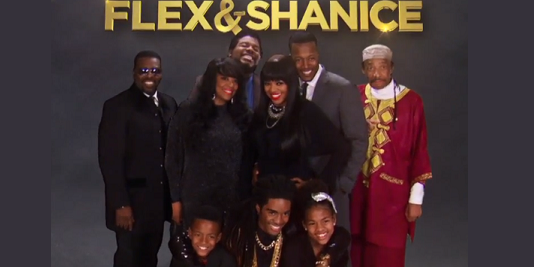 flex and shanice all in the family
