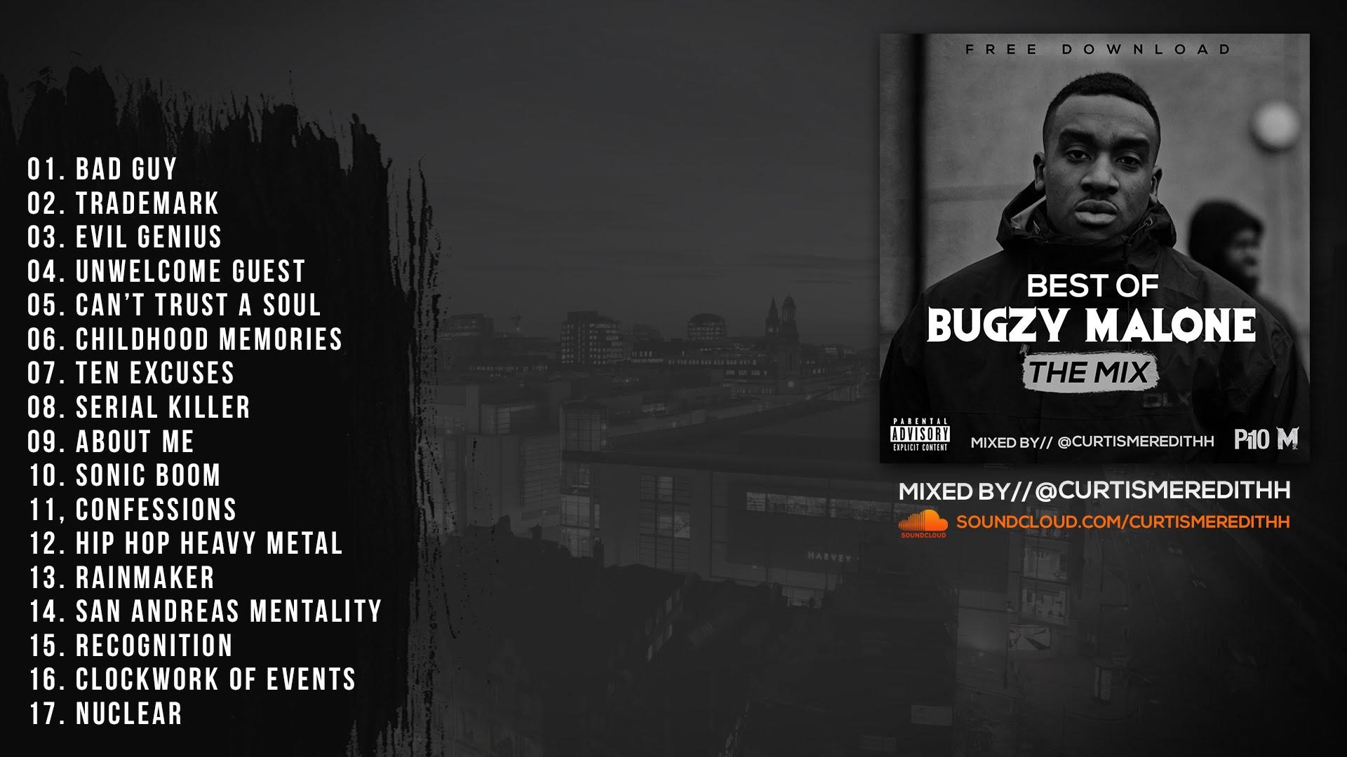 P110 - Best Of Bugzy Malone Mix (@TheBugzyMalone) - (Mixed By ...