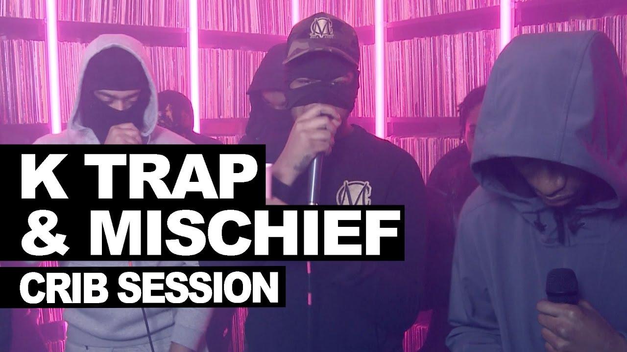 K Trap Mischief Reds Freestyle Westwood Crib Session Hardest Bars