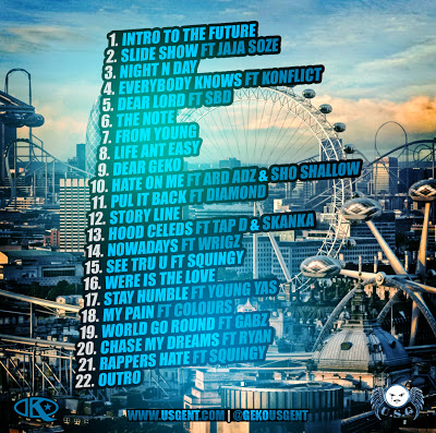 Geko Voice Of The Future Tracklist